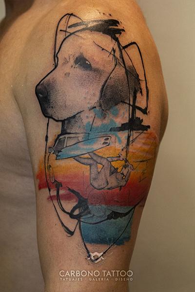 Carbonotattoo | Tatuaje Color Acuarela (1)