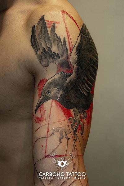 Carbonotattoo | Tatuaje Color Acuarela (10)