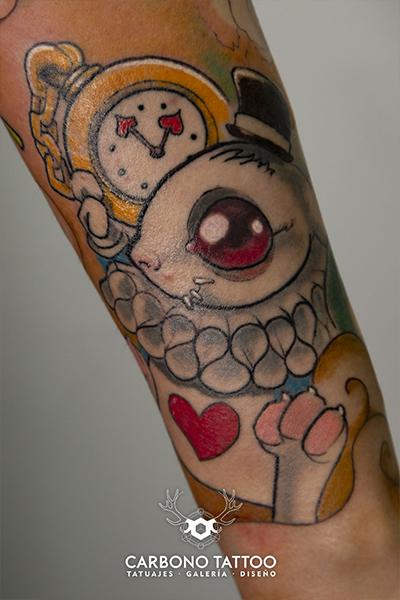 Carbonotattoo | Tatuaje Color Acuarela (2)
