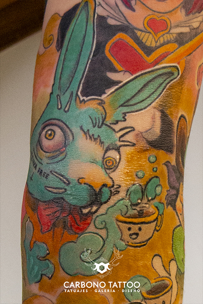 Carbonotattoo | Tatuaje Color Acuarela (3)