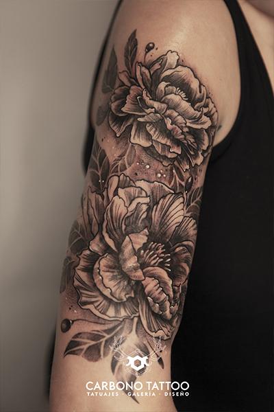 Carbonotattoo | Tatuaje Linea Negra Y Color (3)