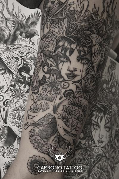 Carbonotattoo | Tatuaje Una Tinta Negro (2)